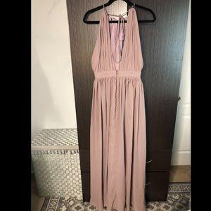JJs House Dresses - Formal purple bridesmaid dress